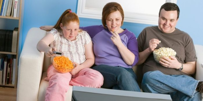 Παχυσαρκία και τηλεόραση